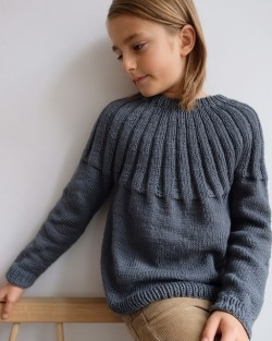 Haralds Sweater Junior - PetiteKnit strikkeopskrift