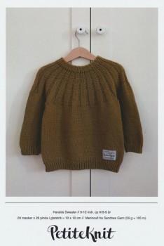 Haralds Sweater - PetiteKnit strikkeopskrift