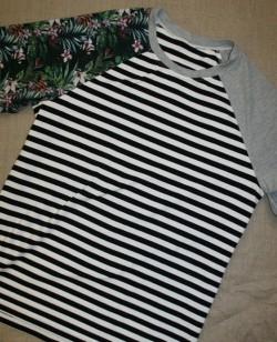 Herre t-shirt i 3 forskellig jersey