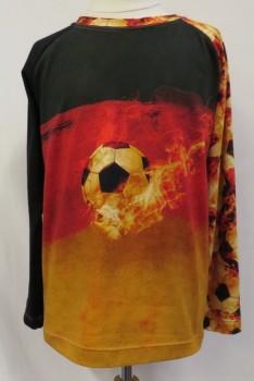 T-shirt med fodbold motiv Minikrea 50222