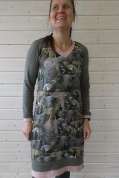 Elefant kjole syet efter Onion 2054