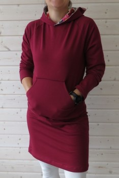 Kjole/Lang sweat-shirt i isoli, Onion 5024
