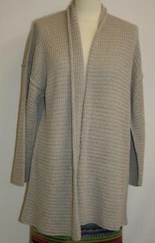 Løs jakke model Mimi strikket i Arezzo Lin