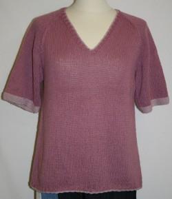 Bluse model Sofia strikket i Arezzo Lin