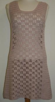 Kjole model Rita hæklet i Alicante / Arezzo Lin