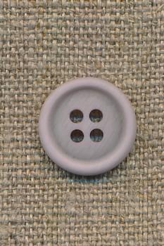 4-huls knap lys lyselilla 15 mm.