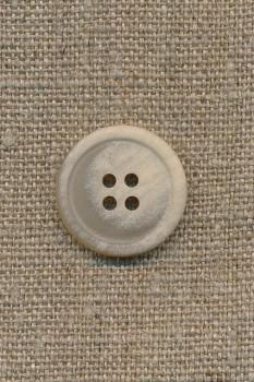 4-huls knap sand meleret, 20 mm.
