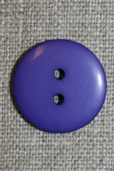 2-huls knap lilla, 20 mm.