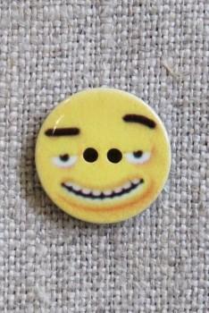 2-huls Knap med gul hoved