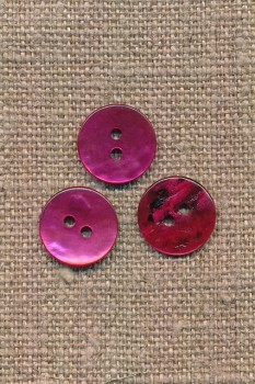 Perlemors-knap pink 13 mm.