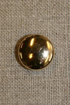Guldknap 15 mm.