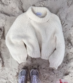 Lousiana Sweater - PetiteKnit strikkeopskrift