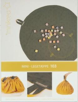 103 Minikrea Legetæppe