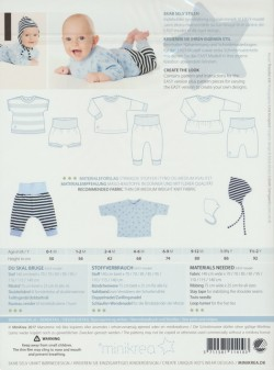 11410 Minikrea babysæt med hue
