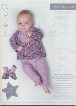 11420 Minikrea Babysæt med sko