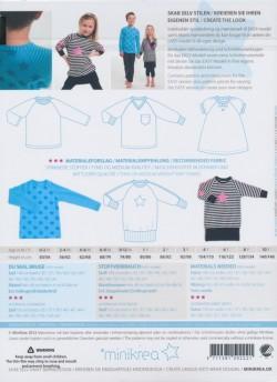 50222 Minikrea raglan t-shirt