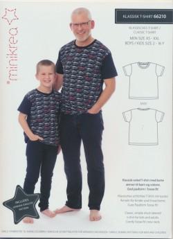 66210 Minikrea Klassisk T-shirt til dreng/herre