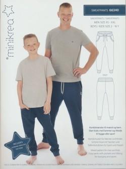 66340 Minikrea Sweatpants dreng/herre