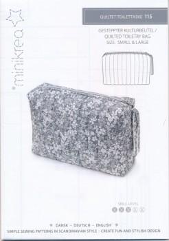 115 Minikrea Quiltet Toilettaske