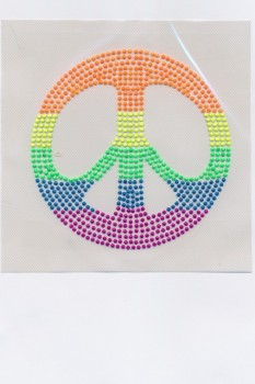 Neon mærke m/peace