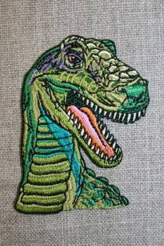 Strygemærke m/dinosaurus