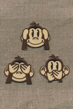 Strygemærke med 3 aber