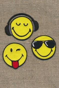 Motiv Smiley 3 stk.