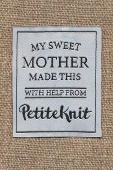 Motiv PetiteKnit - My sweet mother made this