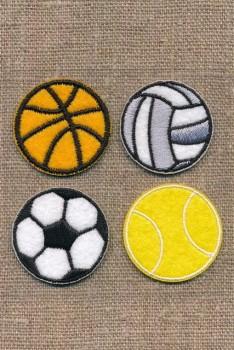 Strygemærke med 4 bolde