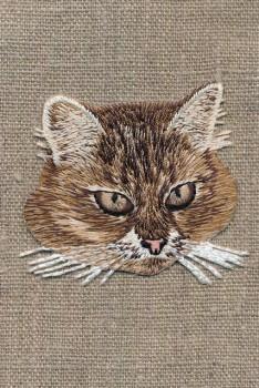 Motiv med katte hoved