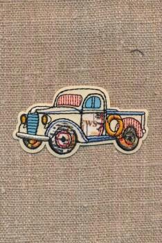 Strygemærke med retro pickup