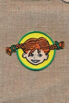 Motiv Pippi Langstrømpe i cirkel
