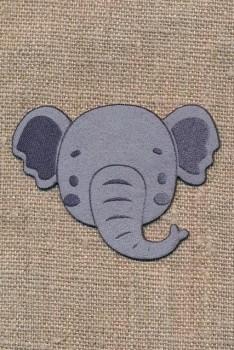 Strygemærke med dyrehoved - Elefant