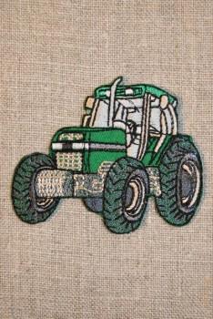Motiv traktor grøn