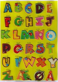Bogstaver til påstrygning