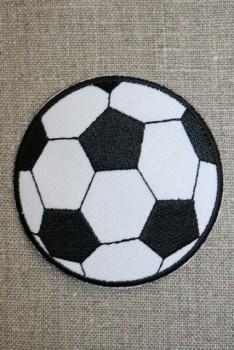 Fodbold sort/hvid, stor