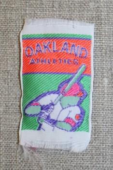 Mærke orange/grøn Oakland athletics