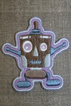 Mærke Robot lilla/brun