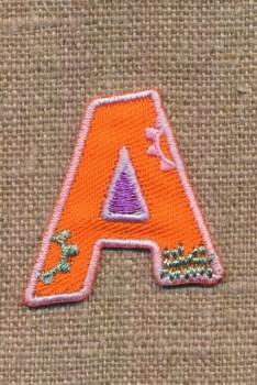 A - Bogstaver til påstrygning