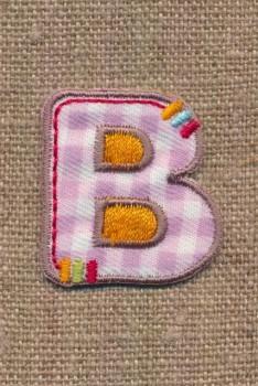 B - Bogstaver til påstrygning