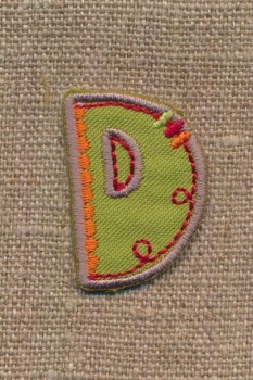 D - Bogstaver til påstrygning