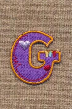 G - Bogstaver til påstrygning