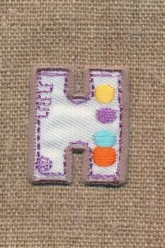 H - Bogstaver til påstrygning