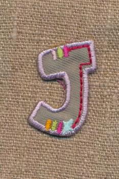 J - Bogstaver til påstrygning