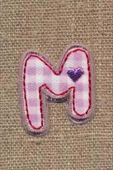 M - Bogstaver til påstrygning