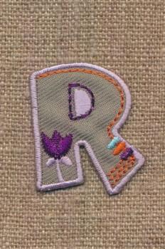 R - Bogstaver til påstrygning