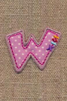 W - Bogstaver til påstrygning