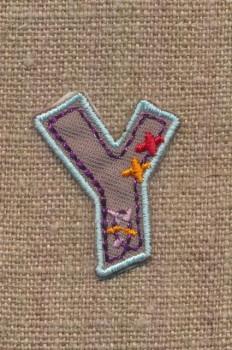 Y - Bogstaver til påstrygning