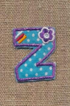 Z - Bogstaver til påstrygning