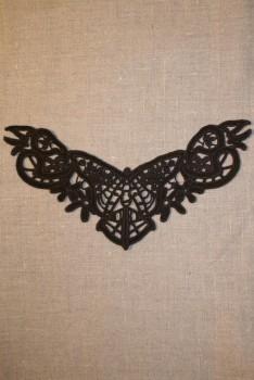 Besætning m/sommerfugl brun